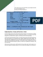 Tensile Test Spreadsheet