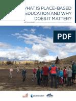 place based education