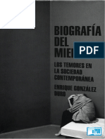 Biografia Del Miedo - Enrique Gonzalez Duro