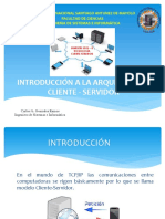 INTRODUCCION A LA ARQUITECTURA CLIENTE - SERVIDOR