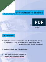 Pediatric hematuria evaluation.ppt