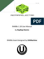RAMBo 1.1B User Manual