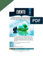 Congreso Desarrollo Sostenible y Encuentro Semilleros Investigacion