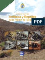 Guia de Campo de Anfibios y Reptiles de Tarapaca (Bonacic Et Al., 2015)