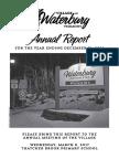 Waterbury Village Report 2016