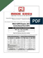 ME_GATE_CBT Test-2