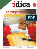 LA INDEPENDENCIA Y EL DERECHO PERUANO