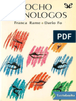 Ocho Monologos - Franca Rame