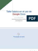 Google Docs Texto