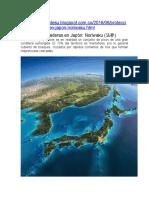 Protección de Laderas en Japón