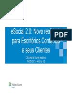 ESocial 2.0 Nova Realidade Para Escritórios Contábeis e Seus Clientes