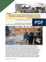 Frau Barbara Spahn i kandydaci do Bundestagu z listy Ruchu Obywatelskiego Solidarnosc w Hesji Rainer Apel und Ilja Karpowski 20170223 ME SOWA Biedron na Prezydenta