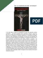 """Fragmentos del libro """"La conspiración de Cristo"""", de Acharya S.pdf"""
