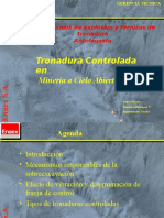 Tronadura Controlada Tesoro (PINGA RICA)