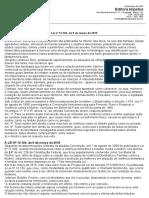 FEMINICÍDIO - Comentários Sobre a Lei Nº 13