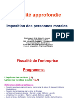 Fiscalité Approfondie Is