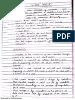 Convection Chemical Engineering Mumbai University Notes