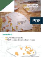 Apresentação Favela Criativa
