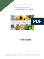 Informe Mensual de Agroindustria