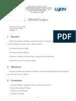 Planos de Curso Logica 1 Fil