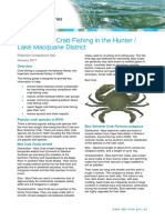 Lake Macquarie Area Recreational Crab Guide
