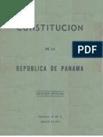 Panamá - Constitución 1946