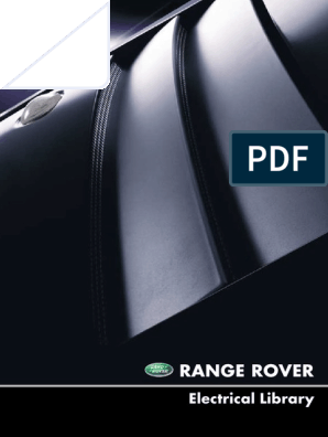 Workshop Manual L322 4 4L Range Rover | Electrical Connector