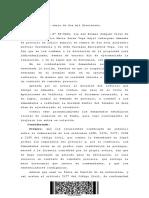 CS - Rol N 27191-2015 Improcedencia de Precario Por Vinculos Parentesco Entre Actor y Ddado