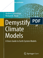 Demystifying Climate Models 2016