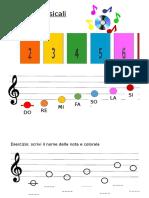 Educazione Musicale Scuola Primaria Materiali