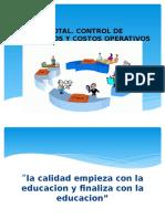 Calidad Total. Control de Inventarios y Costos Operativos Ultimo