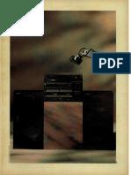 Sistema de Som 3 Em 1 Gradiente 1989