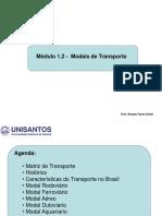 Gestão portuária - Modais de Transporte