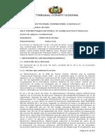 Interpretación de Las Leyes Nros. 291 y 317 Bajo La Luz de Los Principios y Garantías Constitucionales (Cita de La Sentencia No. 39 Emitida Por El TSJ)