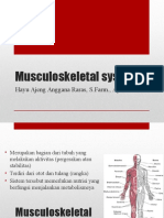 Musculoskeletal System for nurse academy