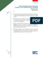 Pautas de Politica Para La Restauracion Ecologica en Un Ambiente de Clima Cambiante - Soto 2017 [Perspectivas 2_2017_FES]
