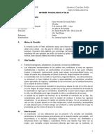 Informe Posicologico c.p.