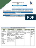 Programa Didáctica y Práctica Docente Noviembre 2015