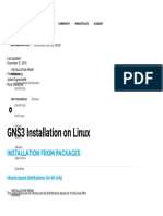 Installation on Linux - GNS3