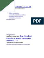 Assistências técnicas i manutenção.rtf