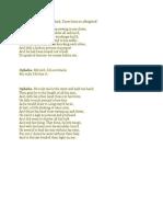 Ophelia Monologue