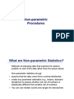 nonparametric procedure