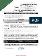 301 Assistente de Administrativo IFMG