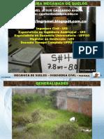 Capitulo 1 Generalidades. Mecánica de Suelos UFPS OCAÑA