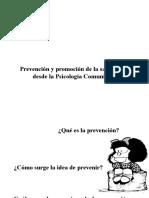06. Prevención y Promoción de La Salud Metal Desde La Psicología Comunitaria