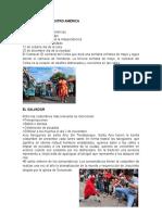Tradiciones de Centro América II