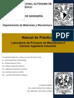 Manual de Lab. de Procesos de Manufactura II