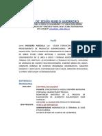 Curriculum Ysmael de Jesus Rubio (1)