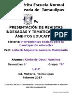 ACT 2 Presentación de Revistas Indexadas