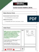 Supplemental Coolant Additive (SCA)